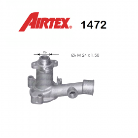 FORD CAPRI WATER PUMP - ESCORT AIRTEX FOR 5004998