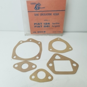 5 PCS WATER PUMP GASKET KIT FIAT 124 - 141 G MILANO 9011B