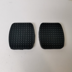 PAIR BRAKE CLUTCH PEDAL COVER ALFA ROMEO 155 - 156 - 164 AKRON FOR 60511695