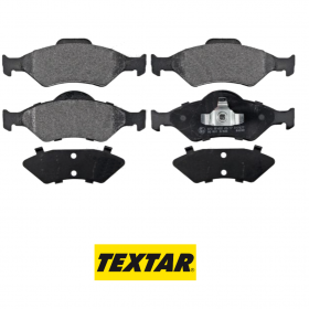 FRONT BRAKE PADS SERIES KIT FORD COURIER - FIESTA - KA TEXTAR 2320001