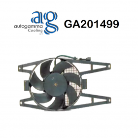 FIAT DUCATO ENGINE COOLING FAN - CITROEN JUMPER AUTOGAMMA FOR 125343