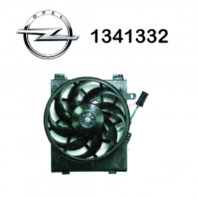 COOLING FAN ENGINE OPEL CORSA C ORIGINAL 1341332