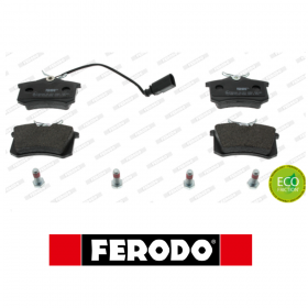 REAR BRAKE PADS SERIES KIT AUDI - FORD - SEAT - VW FERODO FDB1481