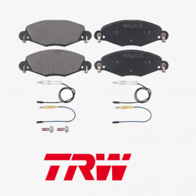 FRONT BRAKE PAD SERIES KIT CITROEN C5 TRW GDB1449