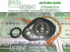 FIAT 850 BERLINA COUPE SPIDER  KIT CATENA DISTRIBUZIONE COMPLETO  1901082