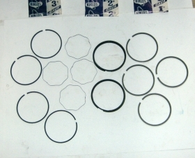 FIAT 1300 FULL set piston rings Ø 72mm