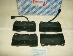 ALFA 159 2000 JTDM   KIT PASTIGLIE FRENO ASSALE ANTERIORE   ORIGINALI 9951050